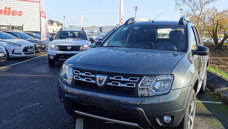 Arrivage Dacia Duster