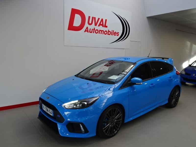 Ford Focus 2.3 EcoBoost 350ch Stop&Start RS Essence BLEU NITRO Occasion à vendre