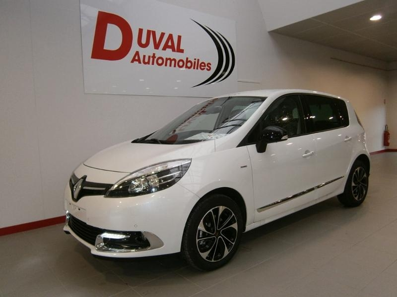 Renault Scenic 1.5 dCi 110ch Bose EDC Euro6 2015 Diesel BLANC Occasion à vendre
