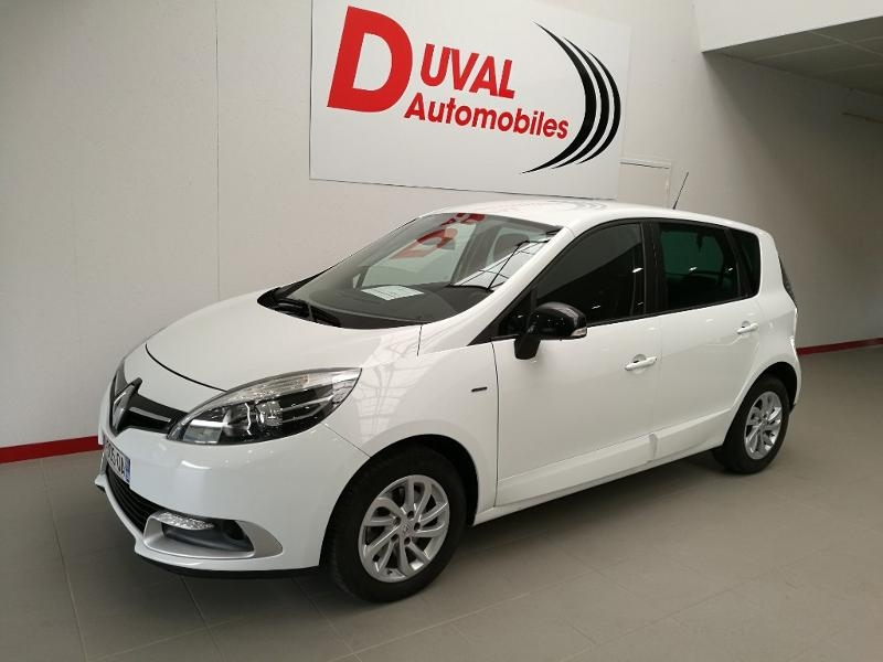 Renault Scenic 1.5 dCi 110ch energy Limited Euro6 2015 Diesel BLANC Occasion à vendre