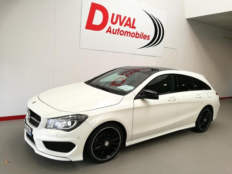 Mercedes-Benz CLA Shooting Brake 200 CDI Fascination 7G-DCT Diesel BLANC Occasion à vendre