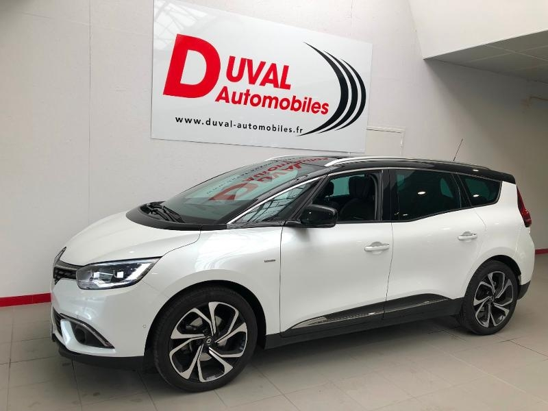 Renault Grand Scenic 1.6 dCi 130ch Energy Intens Diesel BLANC Occasion à vendre