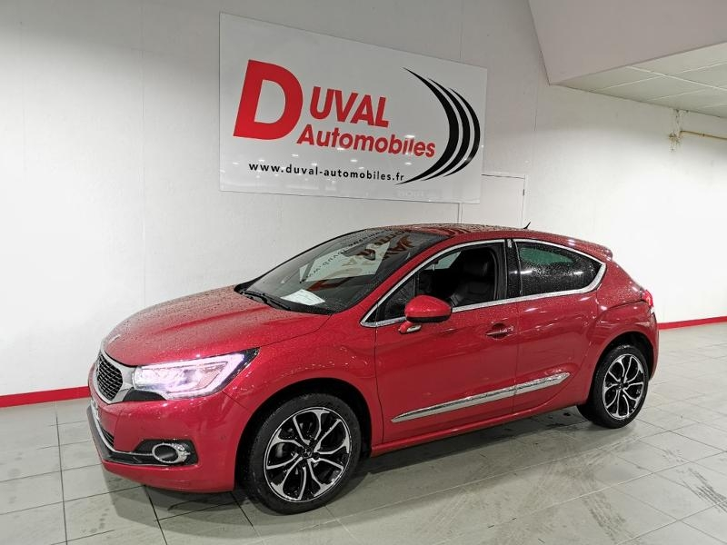 Ds DS 4 BlueHDi 120ch Executive S&S EAT6 Diesel ROUGE Occasion à vendre