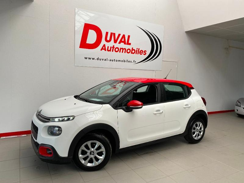 Photo 1 de l'offre de CITROEN C3 1.2 PureTech 83ch S&S Feel Pack à 14790€ chez Duval Automobiles