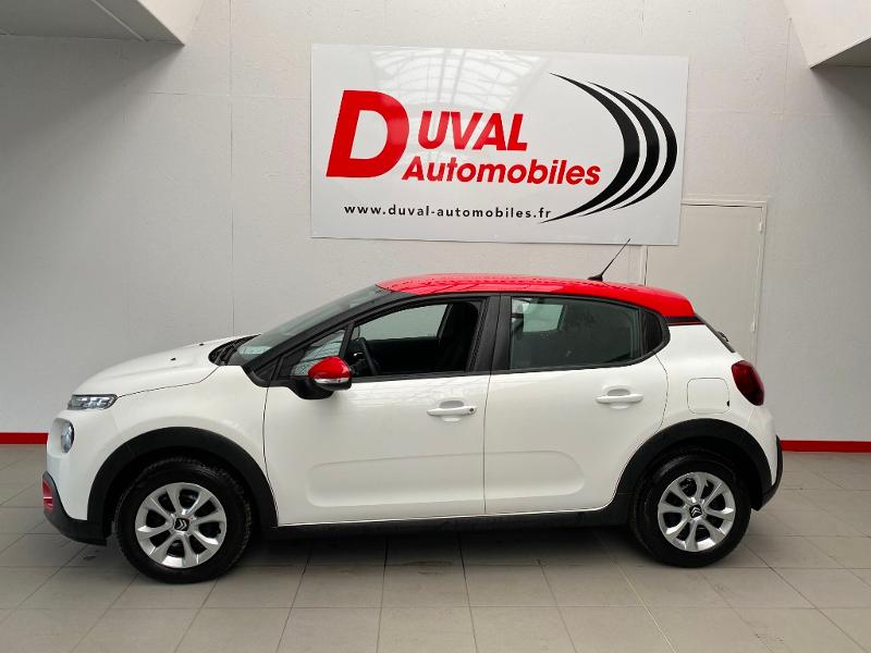 Photo 3 de l'offre de CITROEN C3 1.2 PureTech 83ch S&S Feel Pack à 14790€ chez Duval Automobiles