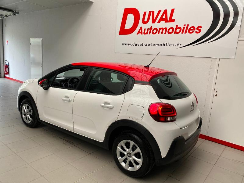 Photo 4 de l'offre de CITROEN C3 1.2 PureTech 83ch S&S Feel Pack à 14790€ chez Duval Automobiles